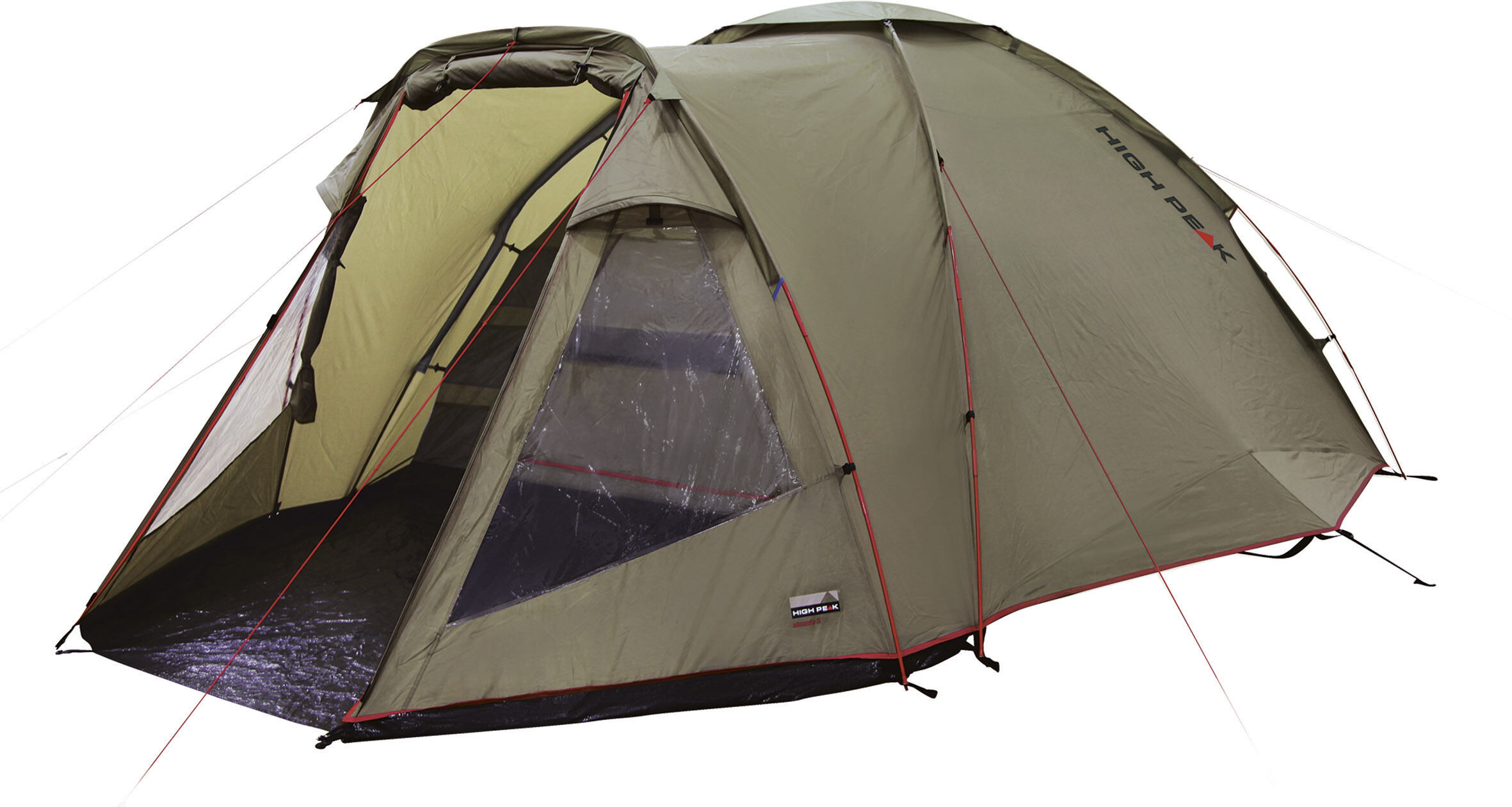 Camp4 Klettergurt : High peak almada 4 tent tuscany oliv campz.de